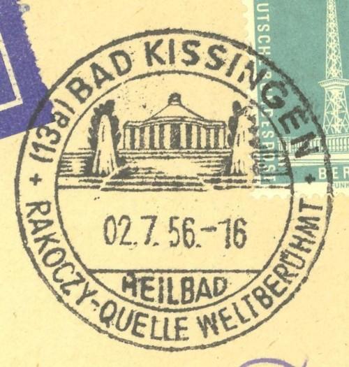 1945 - Ortswerbestempel - Deutschland nach 1945 (Handstempel) Bad_ki10