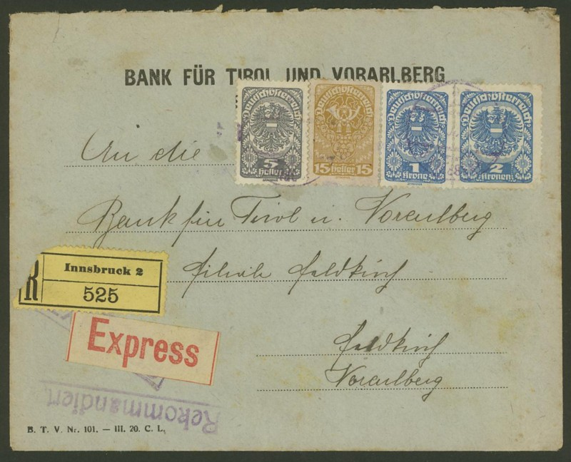 Briefe / Poststücke österreichischer Banken - Seite 2 Bank_f10