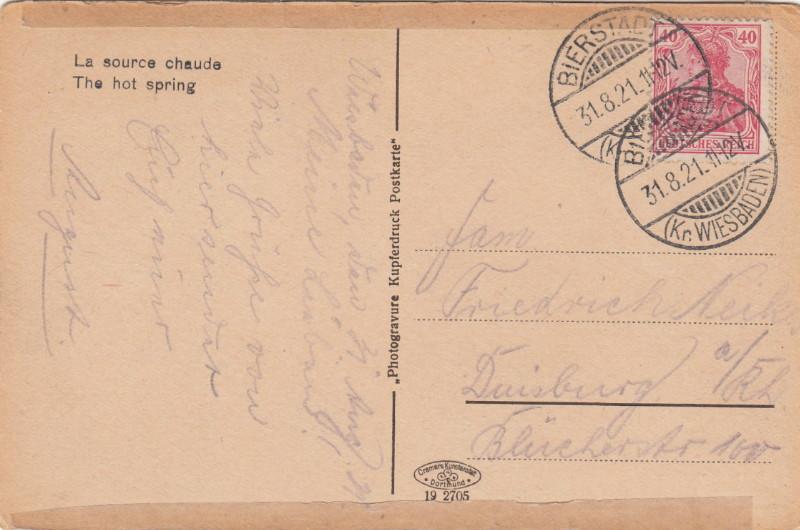 Briefmarken - Bier: Briefmarken, Stempel,Belege und mehr Bierst10