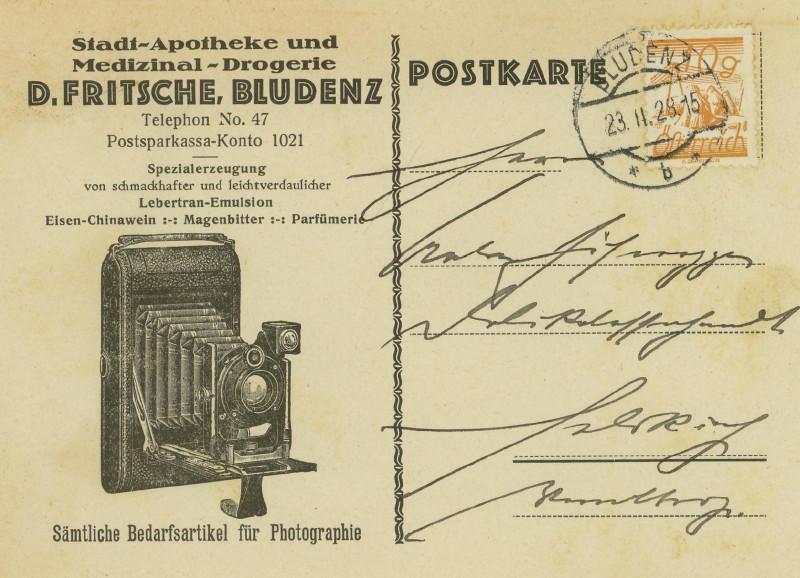 Werbeumschläge und -karten aus Österreich Fotoap11