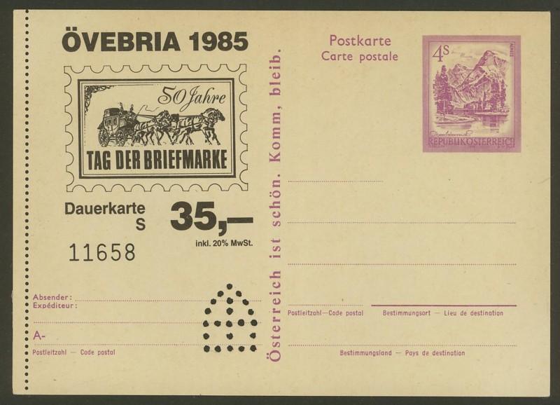 """Wertstempel """"Schönes Österreich"""" - Zudrucke auf Ganzsachen - Seite 2 P_449_11"""