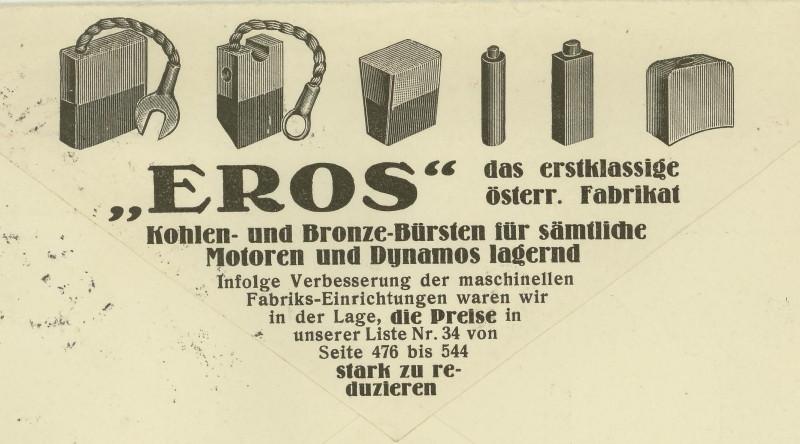 Werbeumschläge und -karten aus Österreich Schell11