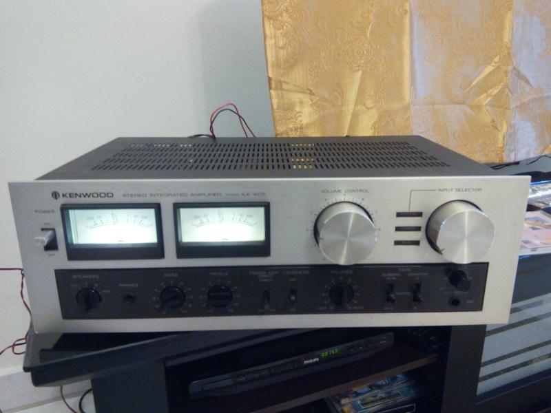 Kenwood KA-405 Intergrated Amplifier (Used)