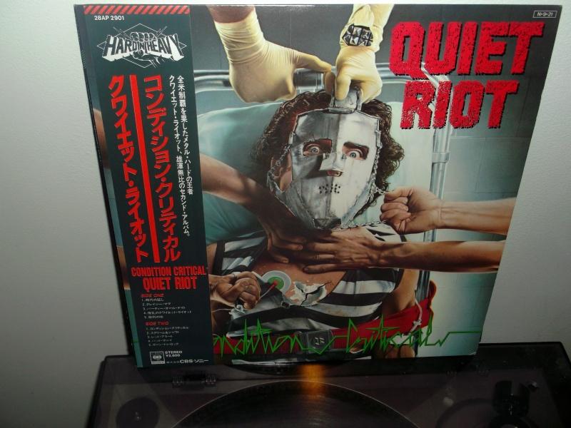 """QUIET RIOT  """"Critical Condition"""" (1984) Dscf1211"""