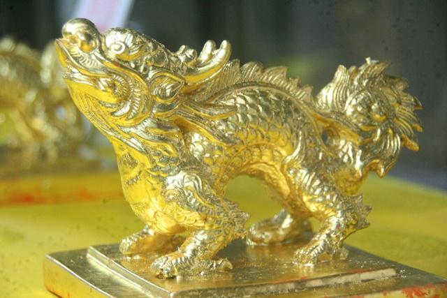 11 chiếc ấn rồng vàng tinh xảo của triều Nguyễn 20511-10