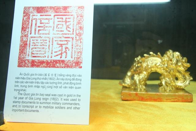 11 chiếc ấn rồng vàng tinh xảo của triều Nguyễn 20515-10