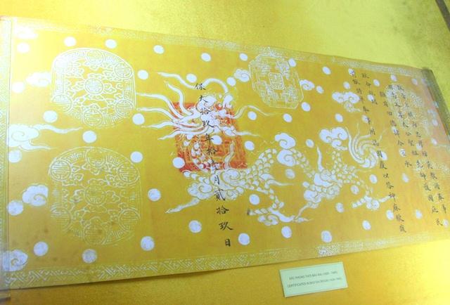 11 chiếc ấn rồng vàng tinh xảo của triều Nguyễn 20519-10