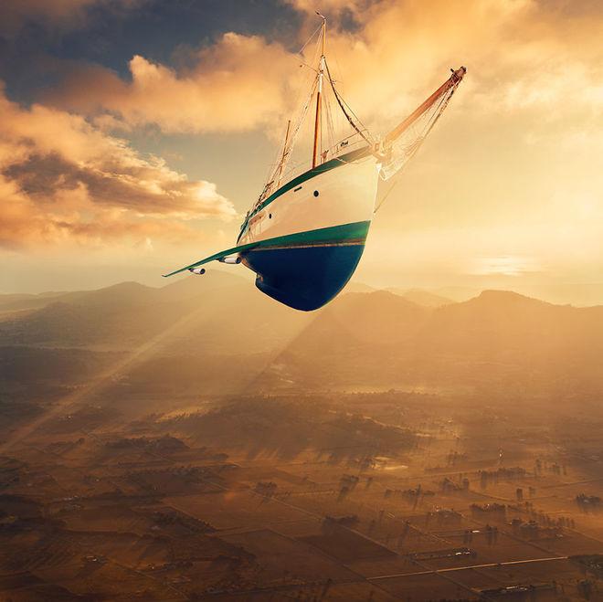 Thế giới tưởng tượng trong loạt ảnh photoshop Diving10