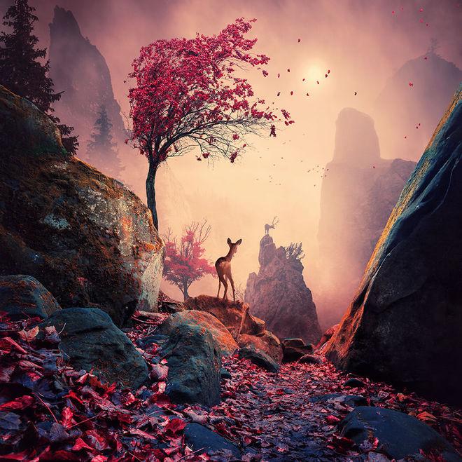 Thế giới tưởng tượng trong loạt ảnh photoshop Majest10