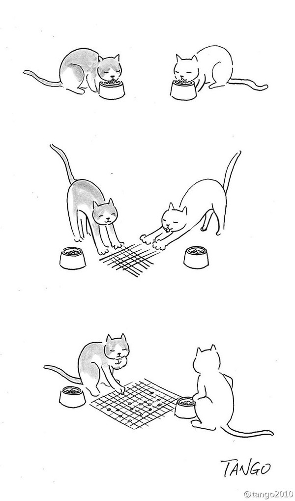 Bộ tranh đơn giản hài hước Thich-12