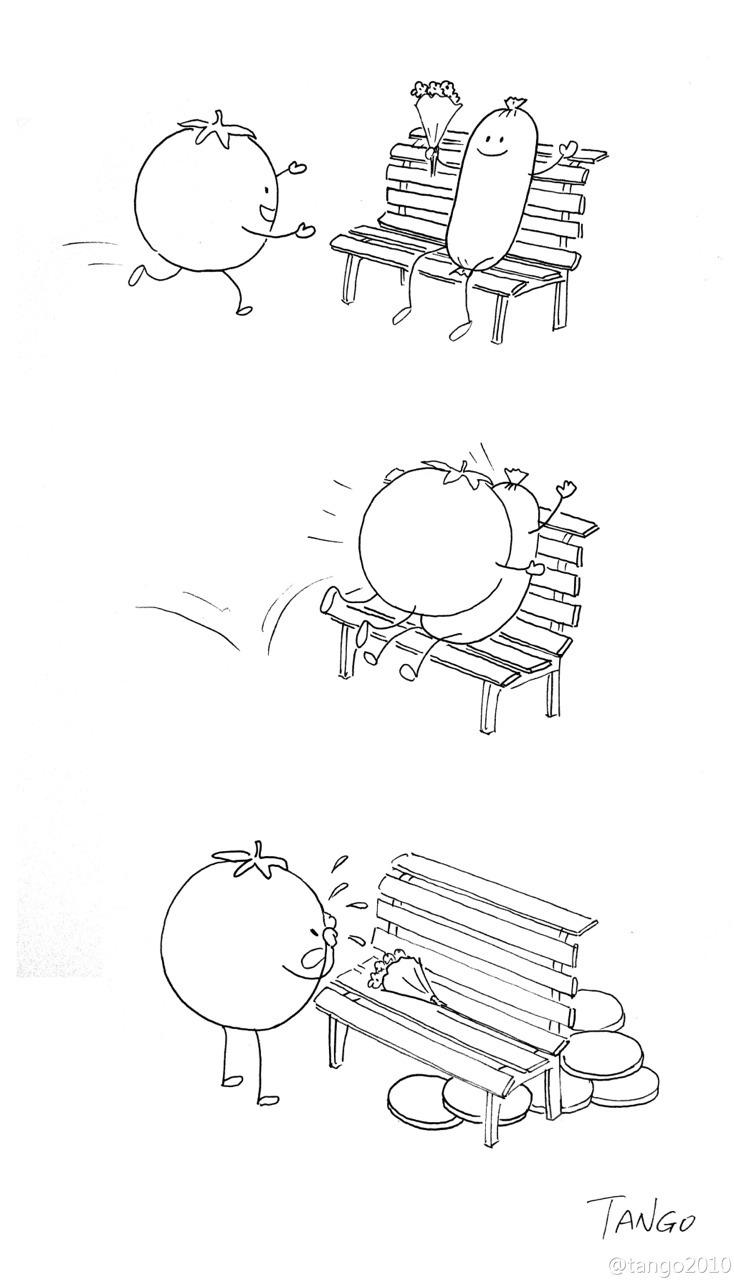 Bộ tranh đơn giản hài hước Tumblr11
