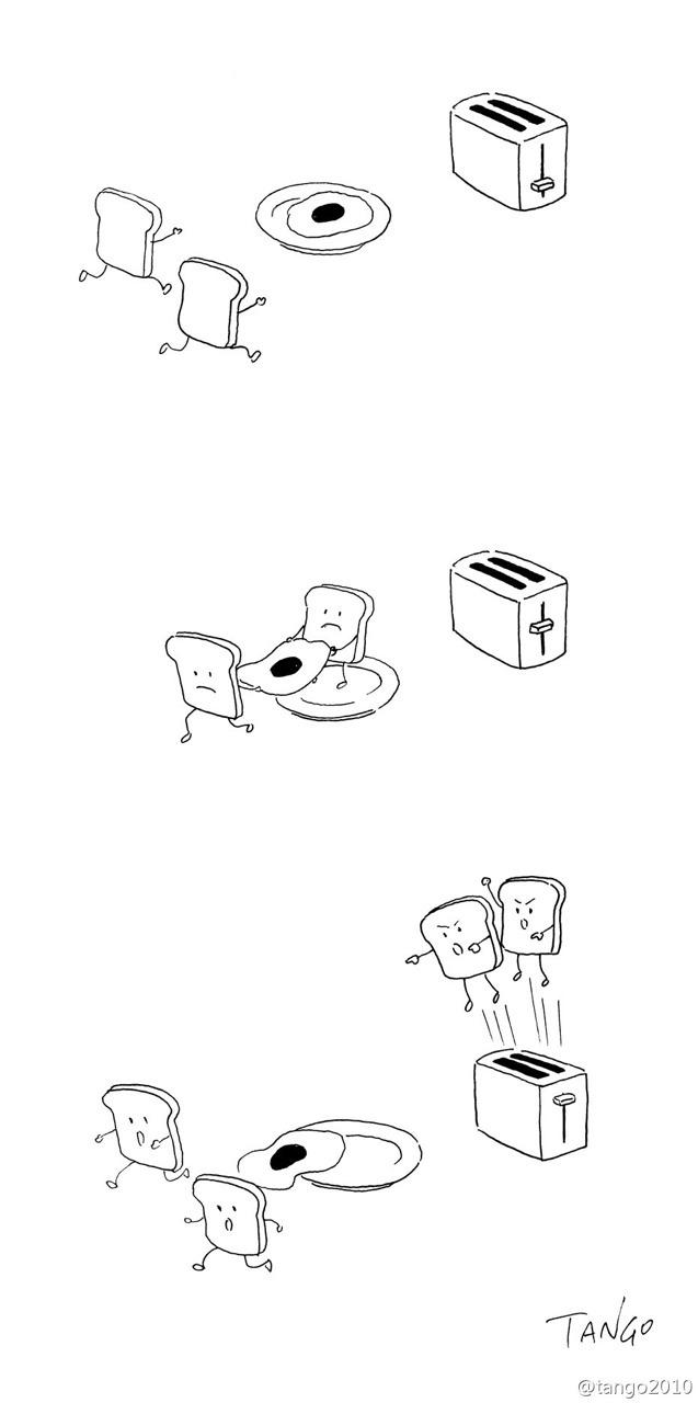 Bộ tranh đơn giản hài hước Tumblr13