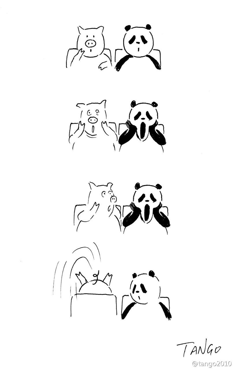 Bộ tranh đơn giản hài hước Tumblr15