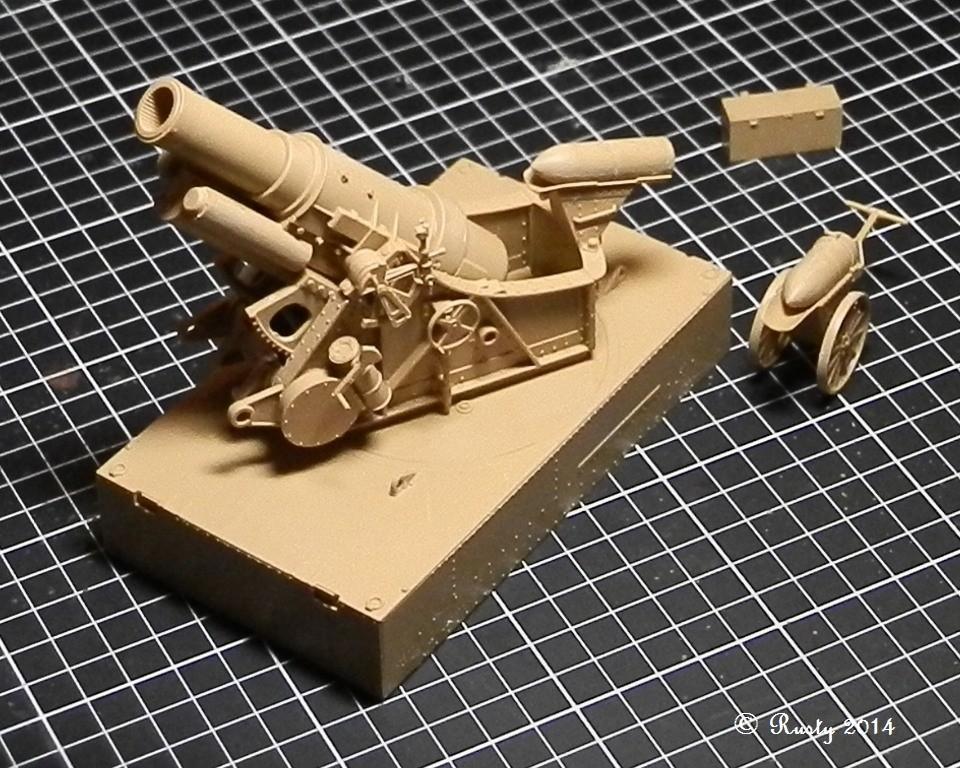 Obusier de 305mm Modèle 1916 Skoda [Takom 1/35] Pc041010