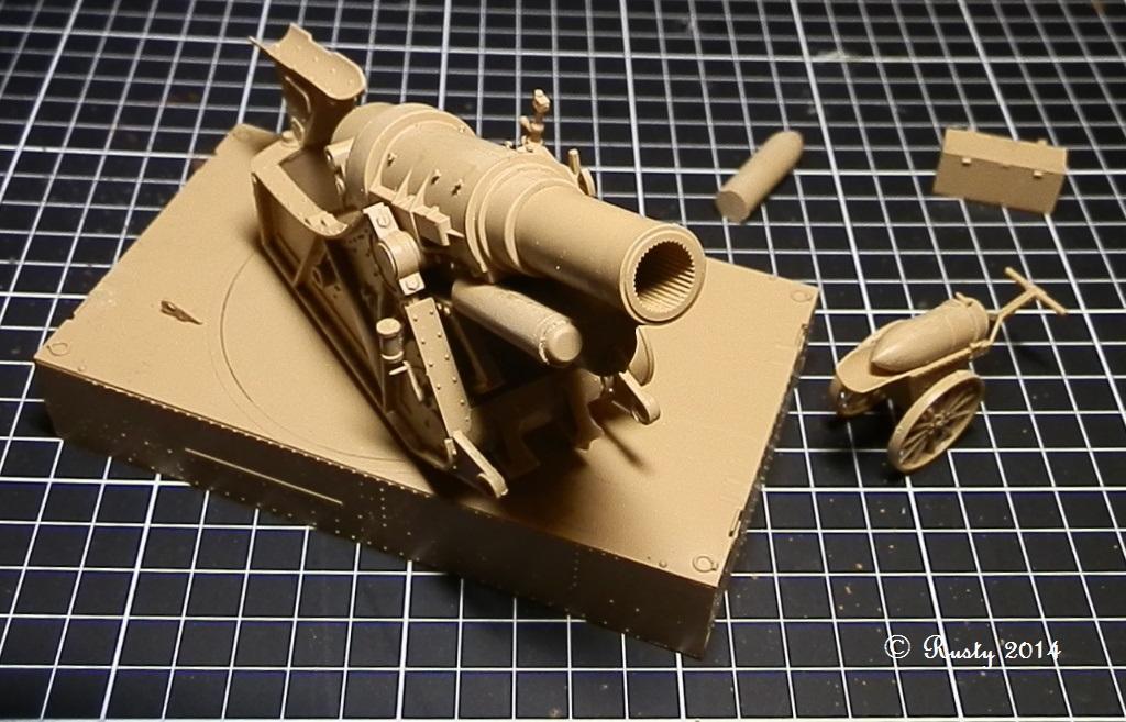 Obusier de 305mm Modèle 1916 Skoda [Takom 1/35] Pc041012