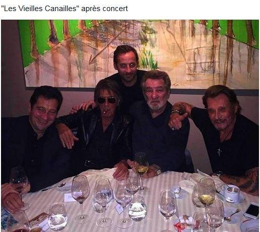 Johnny Hallyday, Jacques Dutronc & Eddy Mitchell à Paris-Bercy  Captur11