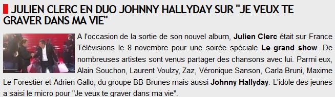 Johnny et Julien clerc duo du 08/09 2014 Captur12
