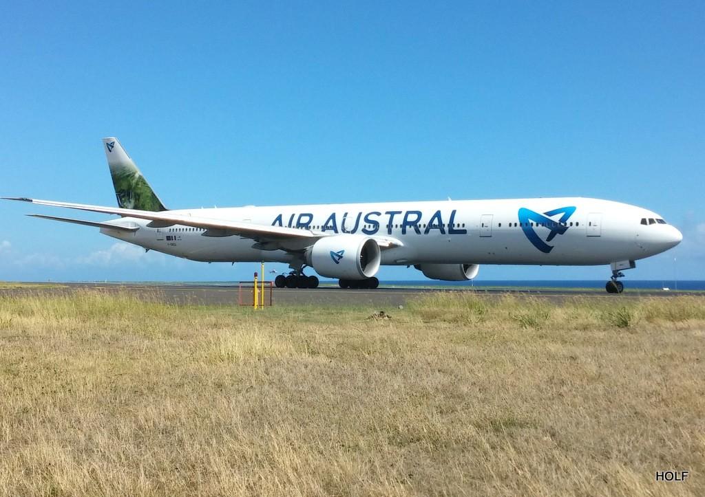 nouvelle livrée d'Air Austral à La Réunion 20141110