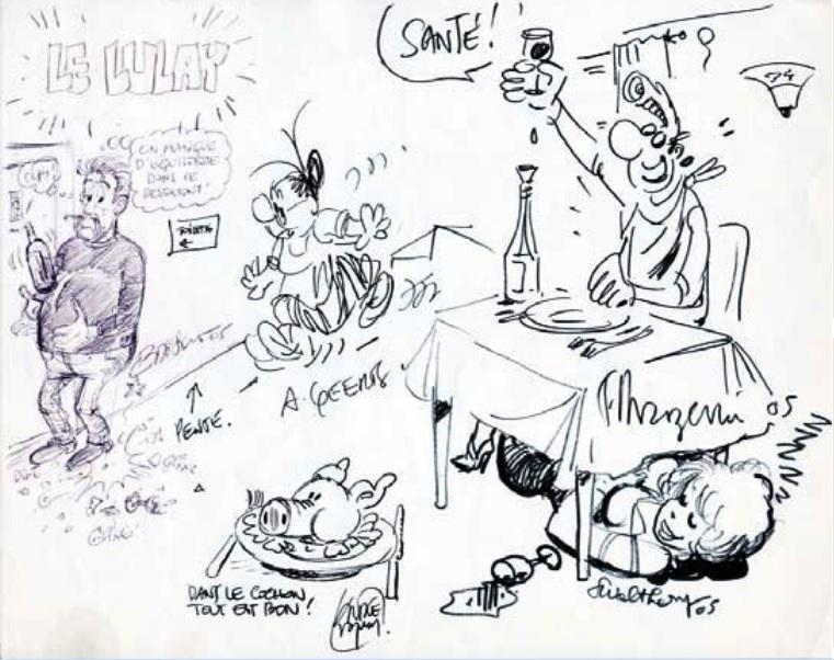 Les dessins ou dédicaces à plusieurs mains - Page 2 Divers12