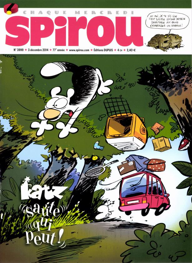 Spirou ... le journal - Page 11 Spin11