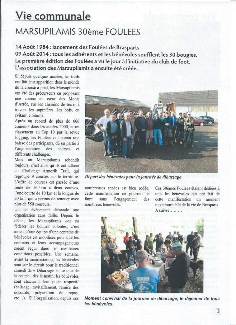 Bulletin d'information de Brasparts n°43 0311