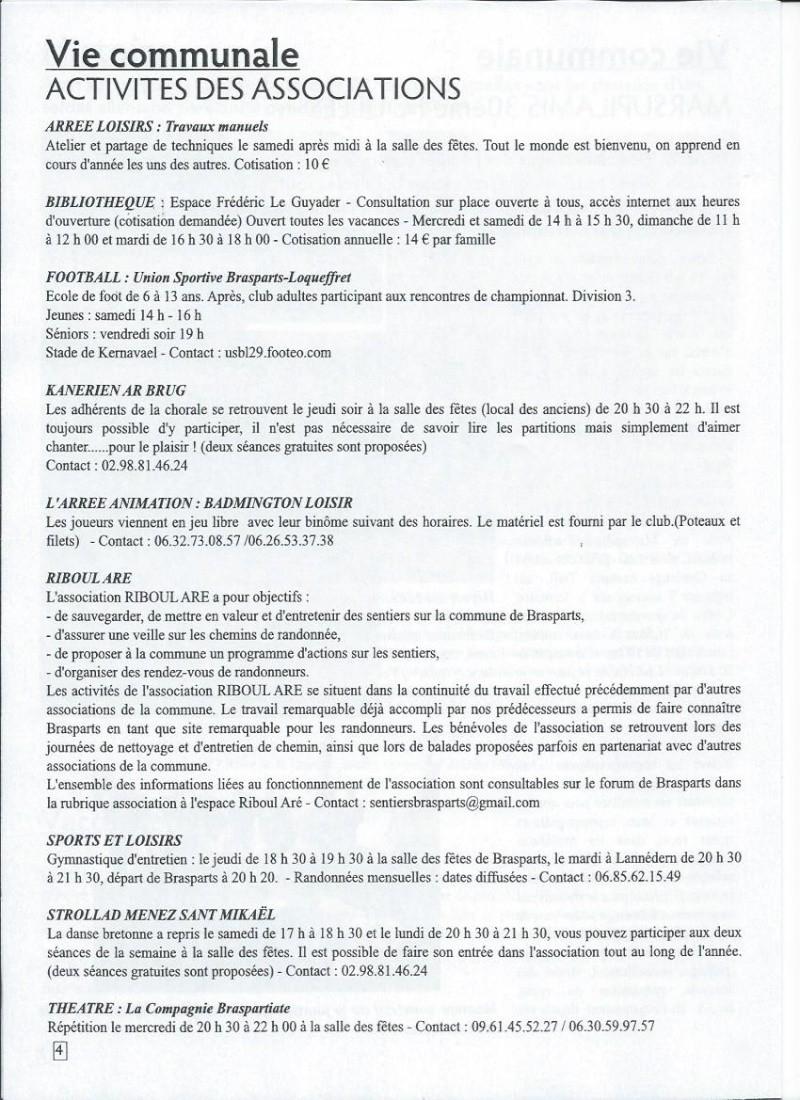 Bulletin d'information de Brasparts n°43 0411
