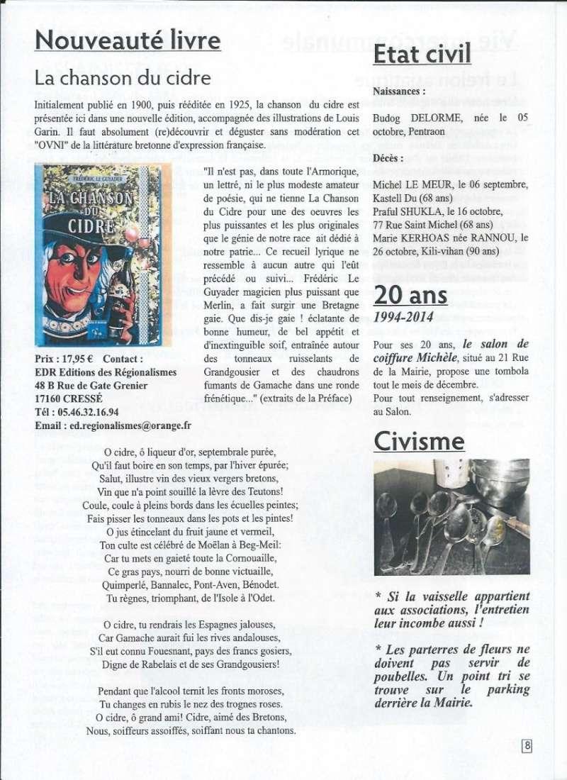 Bulletin d'information de Brasparts n°43 0811