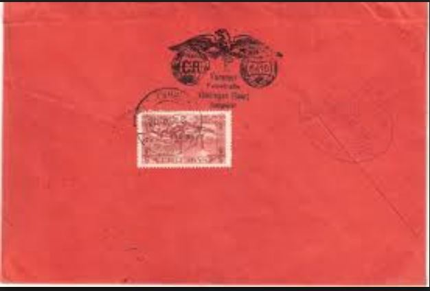 nach - Südamerikafahrt 1930, Post nach Rio de Janeiro 0210