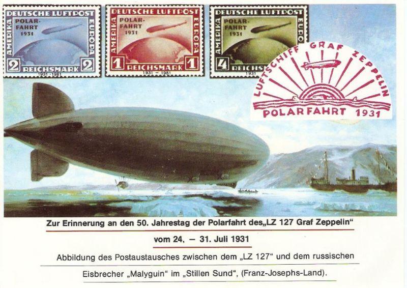 50 Jahre Polarfahrt Luftschiff Graf Zeppelin 0212