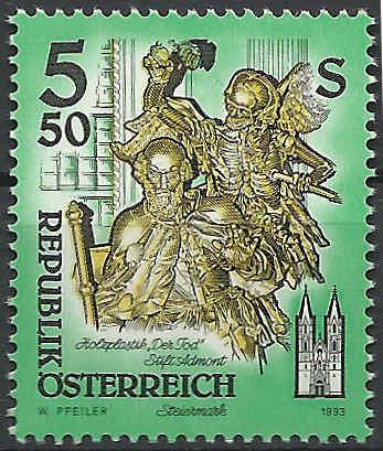 """Freimarkenserie """"Kunstwerke aus Stiften und Klöstern"""" 0550_a10"""
