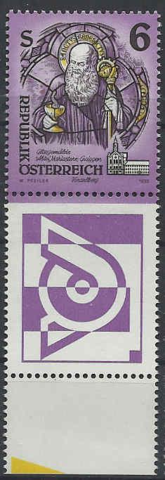 """Freimarkenserie """"Kunstwerke aus Stiften und Klöstern"""" 0600_a11"""