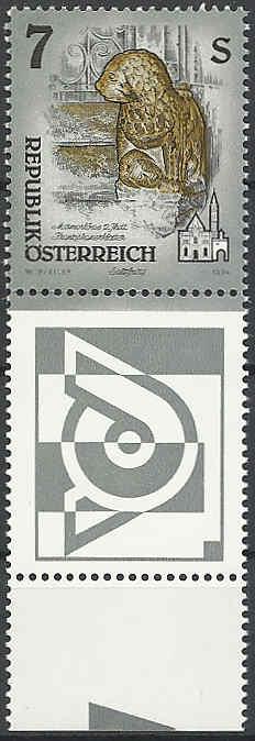 """Freimarkenserie """"Kunstwerke aus Stiften und Klöstern"""" 0700_a11"""