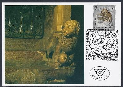 """Freimarkenserie """"Kunstwerke aus Stiften und Klöstern"""" 0700_a13"""