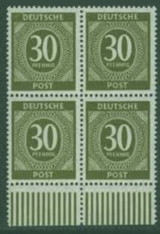 Gemeinschaftsausgaben für die amerikanische, britische und sowjet. Besatzungszone 111