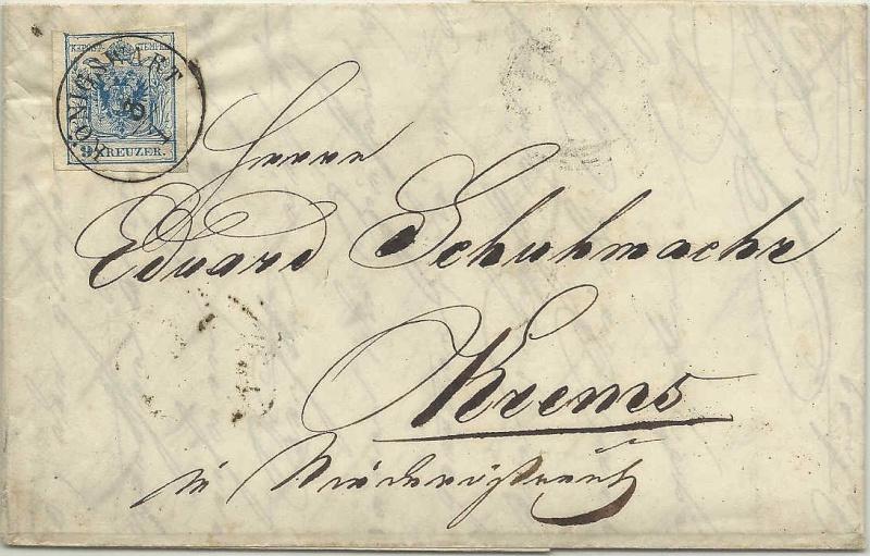 Die erste Österreichische Ausgabe 1850 - Seite 6 1853_910
