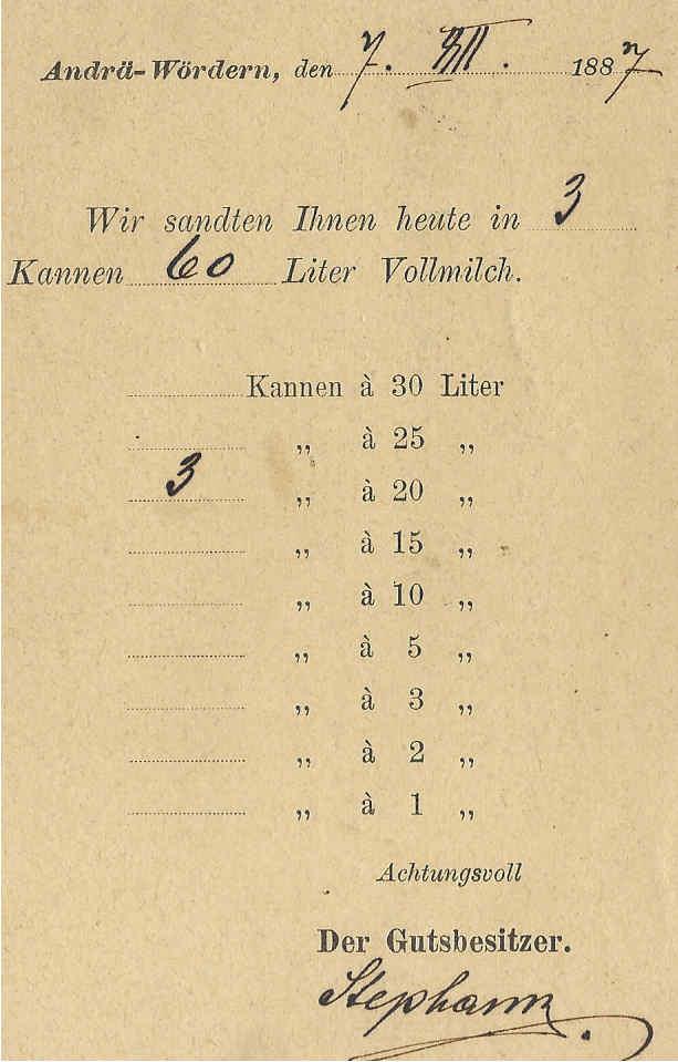 Lebensmittelwerbung auf Ganzsachenpostkarten 1887_p11