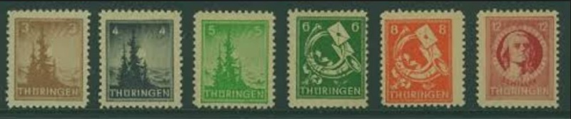 Thüringen (OPD Erfurt) -Sowjetische Besatzungszone- Thyrin10