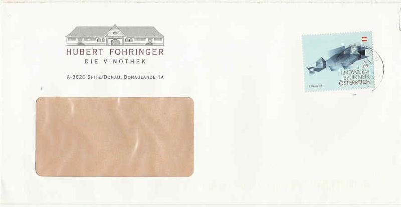 Werbeumschläge und -karten aus Österreich Vinoth10