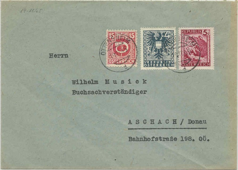 Wappenzeichnung  -  ANK 714-736 - Belege - Seite 2 Wappen10