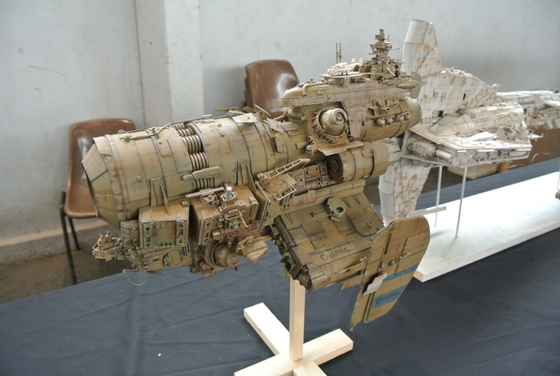 "vaisseau minier ""UNA industrie"" 1/350 Dsc_9410"