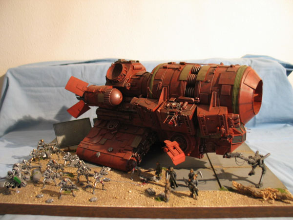 "vaisseau minier ""UNA industrie"" 1/350 Perso010"