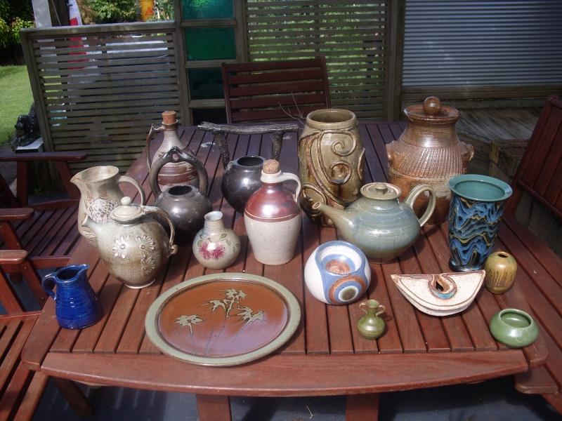 NZ studio pottery Potter11