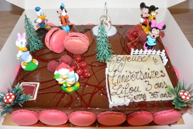 Gâteaux d'anniversaire Disney de nos miniatures Dsc_2010
