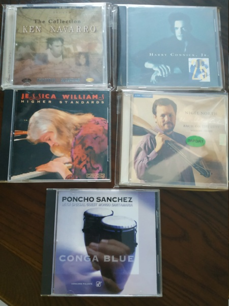 Audiophile CDs - Jazz and Classicals Titles (Used) Audiop10