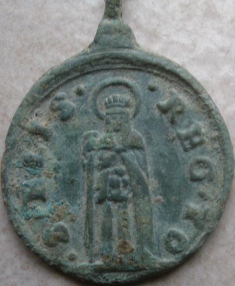 Médaille Ste Isabelle & Les cinq saints et sainte - XVIIème Shiv11