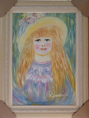 La médium-peintre brésilienne Valdelice Salum Re110