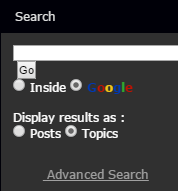 Google Forum Search Fixed Forumo10