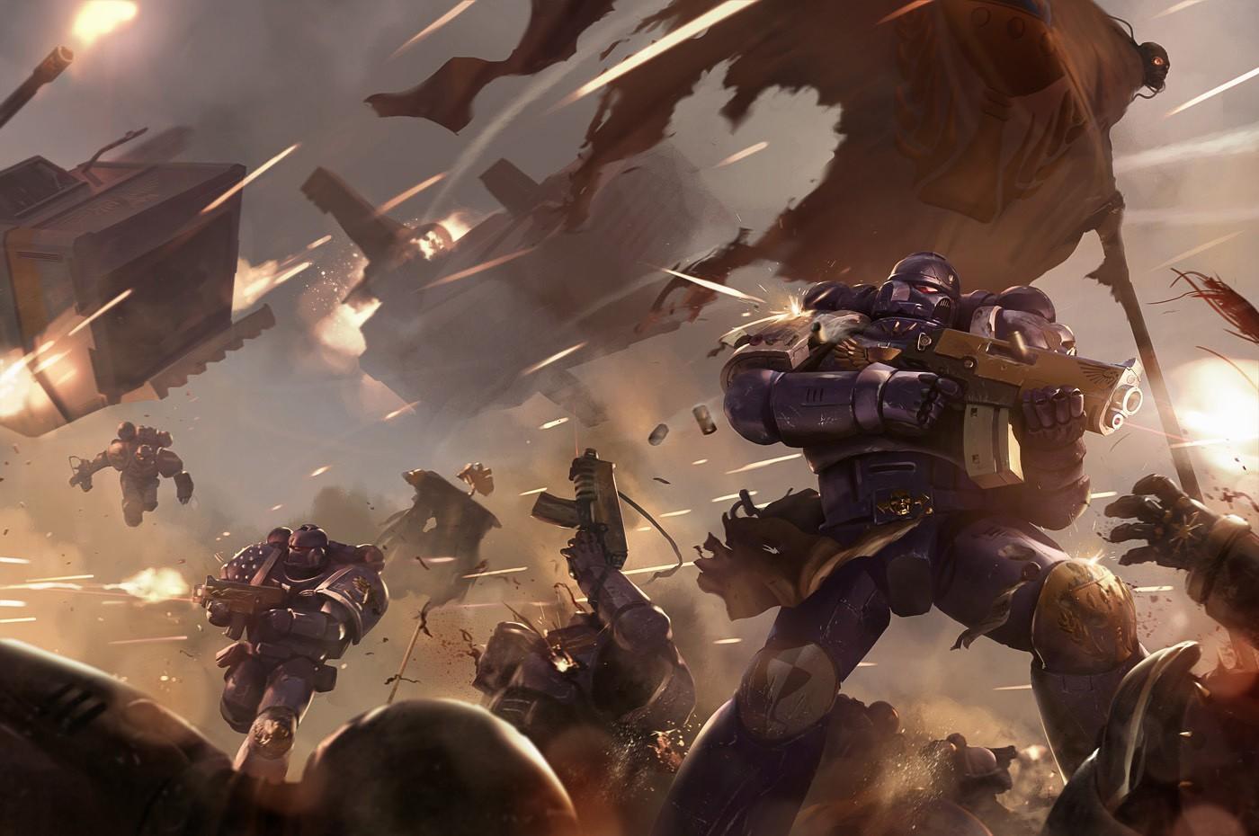 [W40K] Collection d'images : Warhammer 40K divers et inclassables - Page 2 Black_10