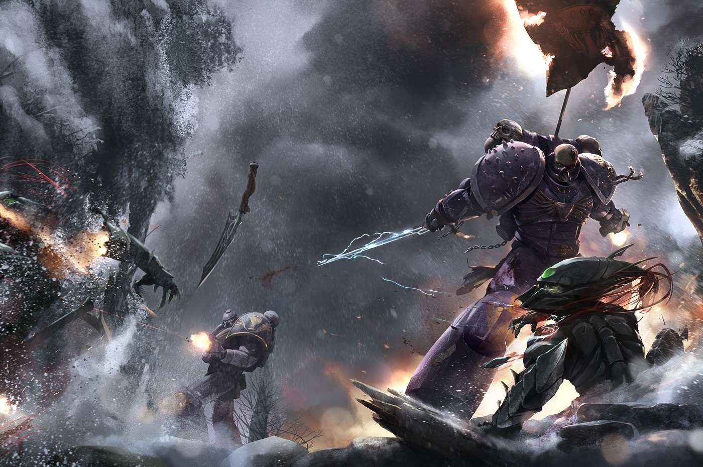 [W40K] Collection d'images : Warhammer 40K divers et inclassables - Page 2 Black_11