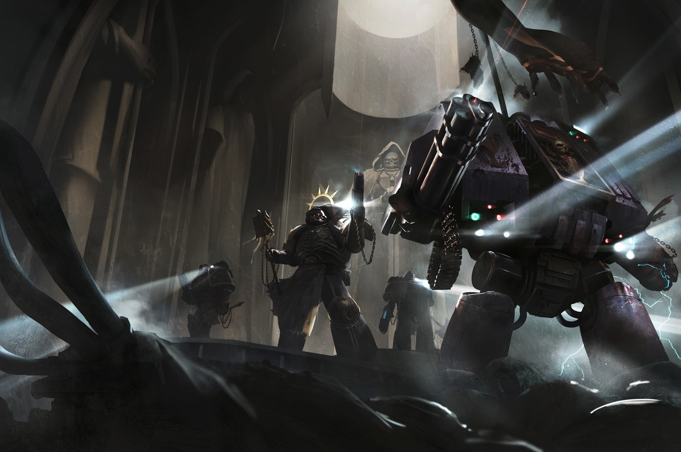 [W40K] Collection d'images : Warhammer 40K divers et inclassables - Page 2 Black_12